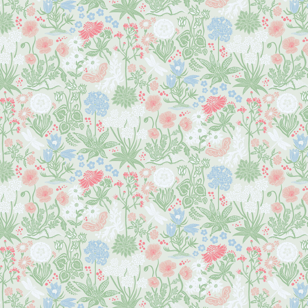 Sandberg Lotte Green Wallpaper - Product code: 592-28