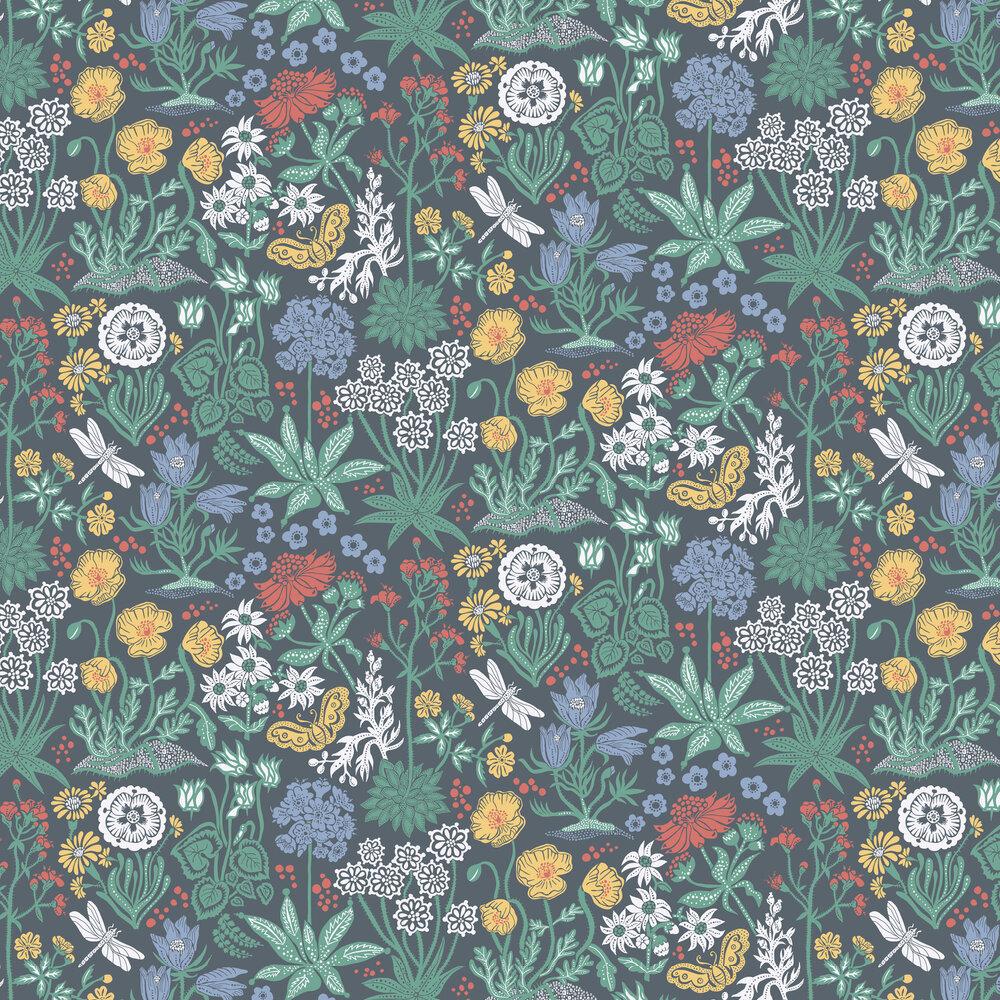 Sandberg Lotte Black Wallpaper - Product code: 592-91