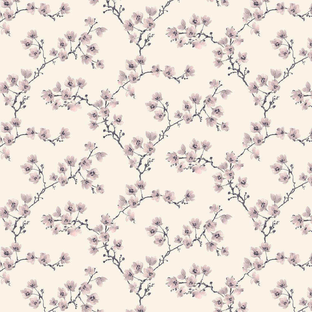 Blossom Wallpaper - Dusk Pink - by SketchTwenty 3