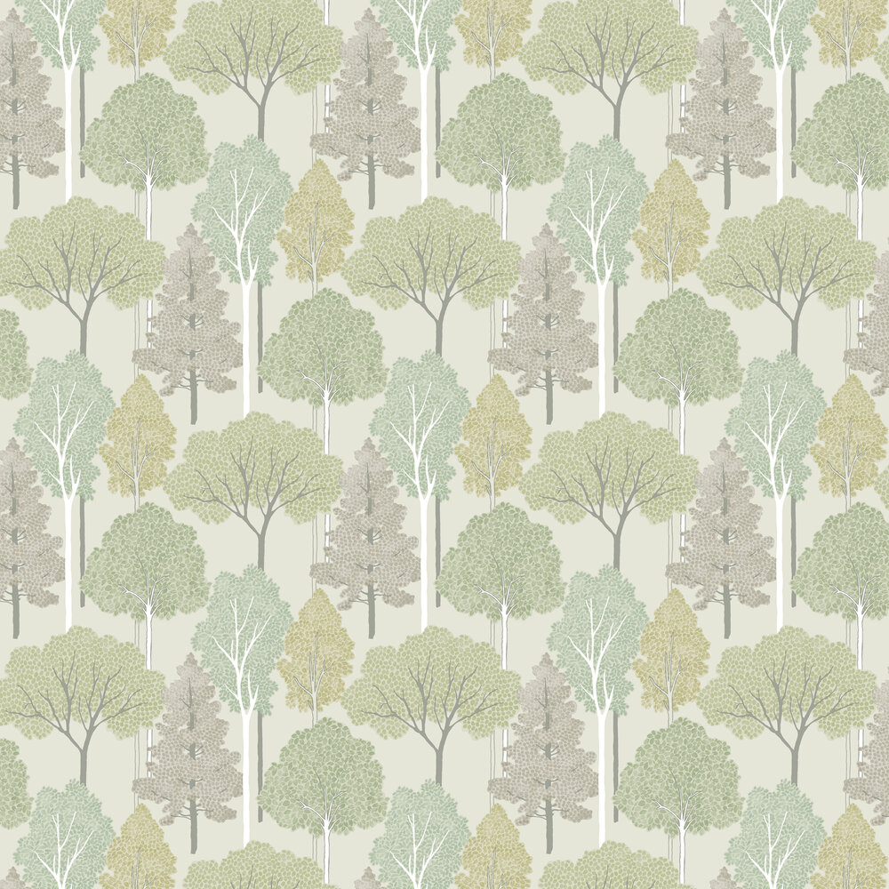 Ellwood Wallpaper - Green - by Arthouse