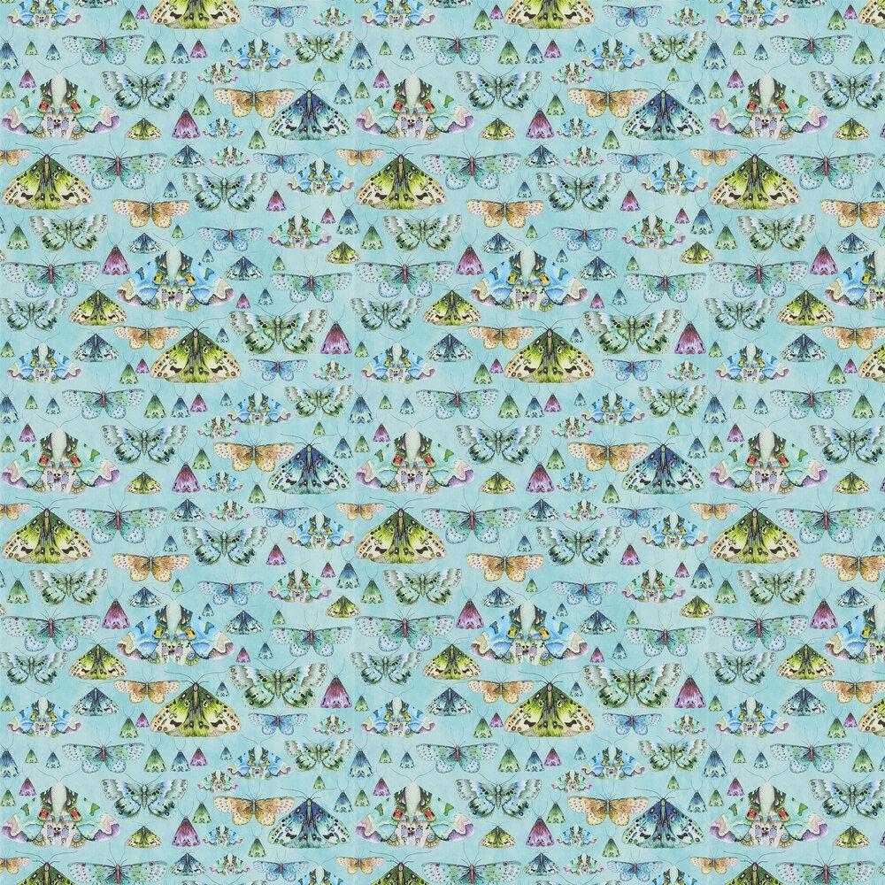 Issoria Wallpaper - Jade - by Designers Guild