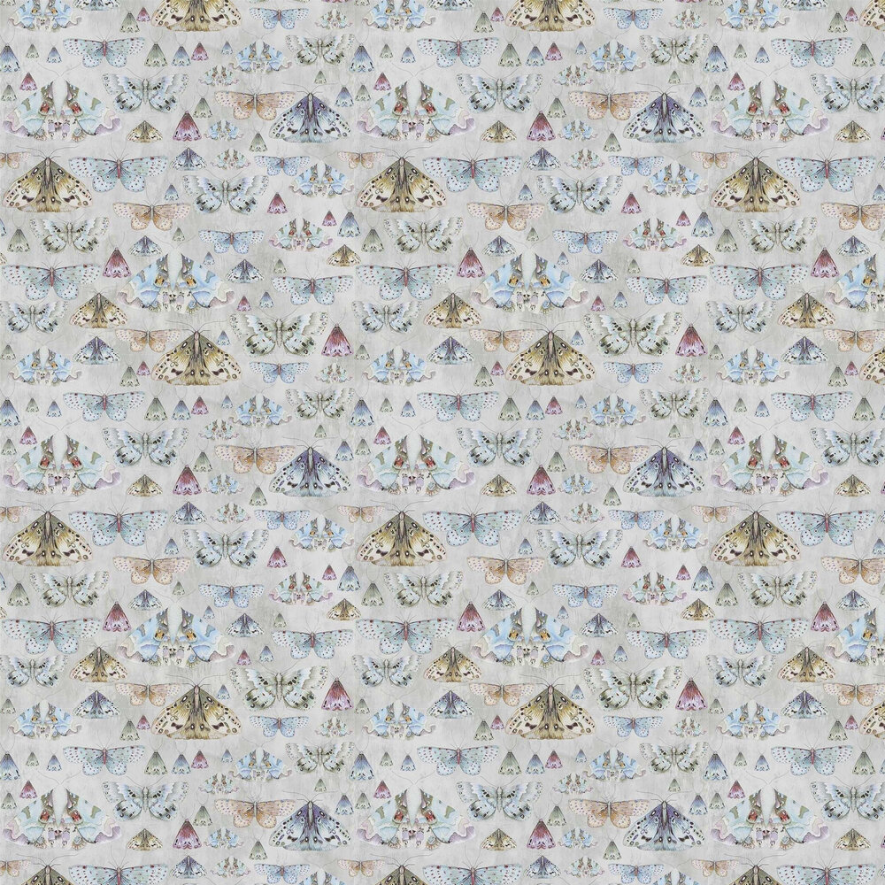 Issoria Wallpaper - Zinc - by Designers Guild