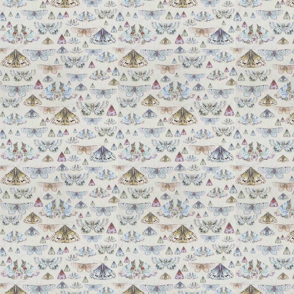 Issoria Wallpaper - Pearl - by Designers Guild