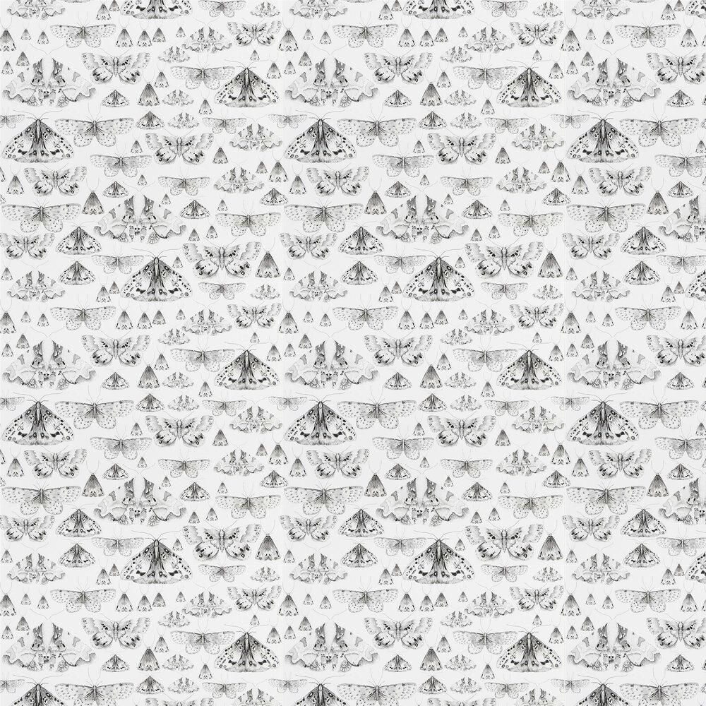 Issoria Wallpaper - Black / White - by Designers Guild
