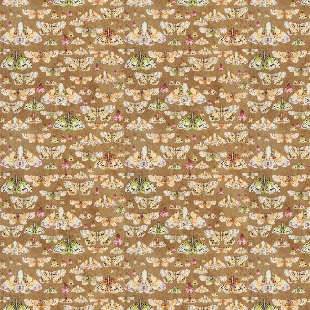 Issoria Wallpaper - Gold - by Designers Guild