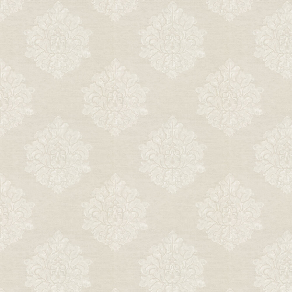 Laurie Wallpaper - Ivory - by Sanderson
