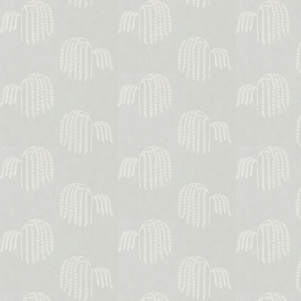 Bay Willow Wallpaper - Sage - by Sanderson
