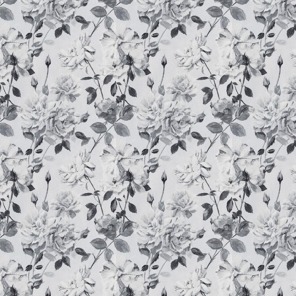 Couture Rose Wallpaper - Noir - by Designers Guild