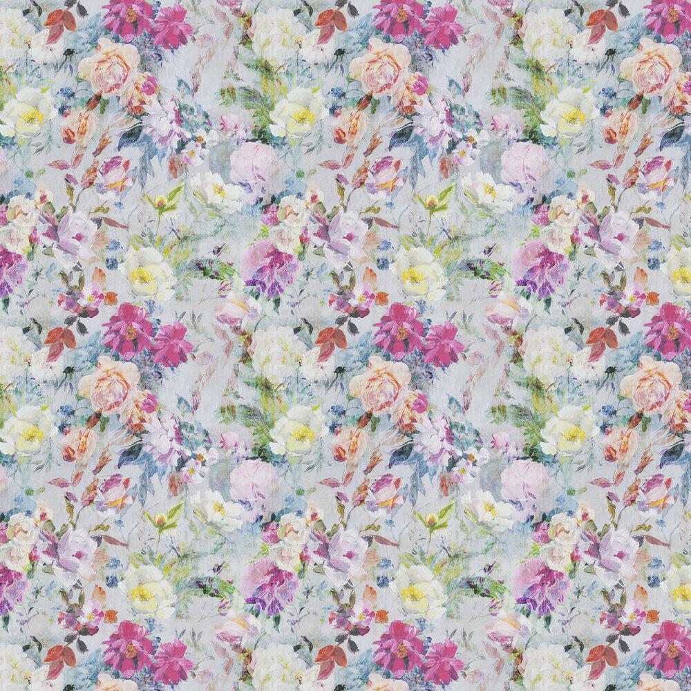 Marianne Wallpaper - Fuchsia - by Designers Guild