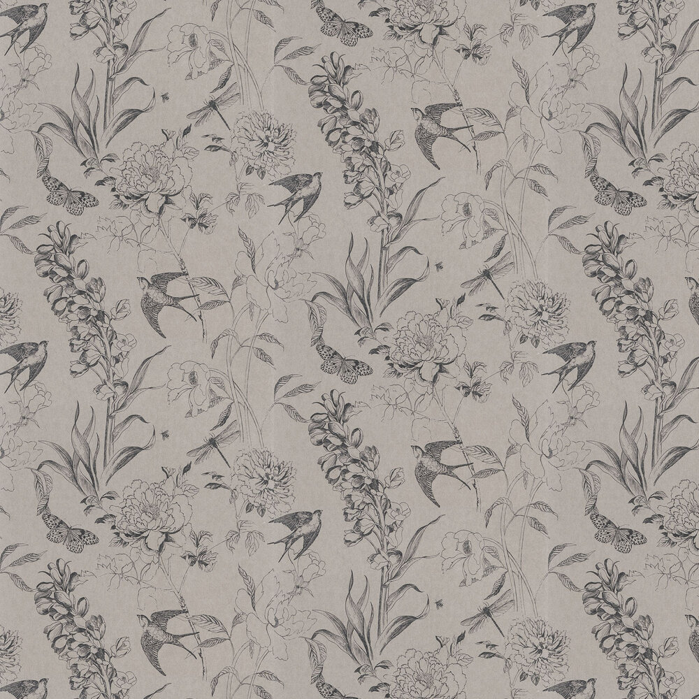 Sibylla Wallpaper - Birch - by Designers Guild