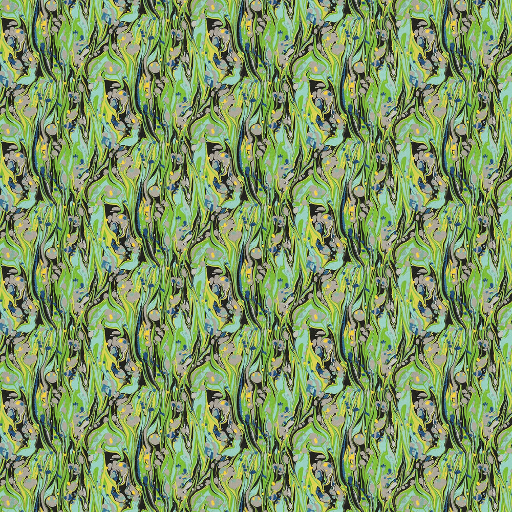 Delahaye Wallpaper - Emerald - by Designers Guild