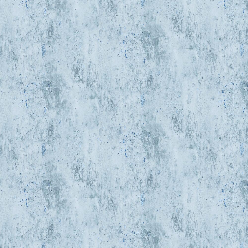 Michaux Wallpaper - Slate Blue - by Designers Guild