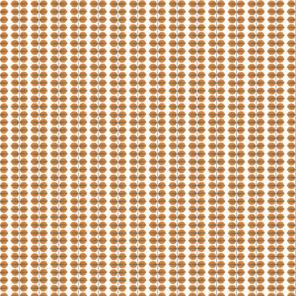Boråstapeter Bersa Orange Wallpaper - Product code: 1754