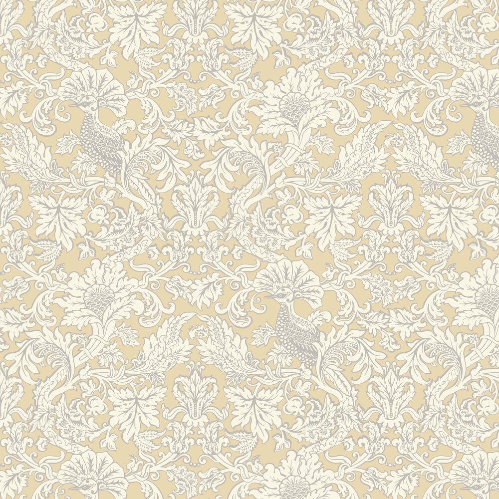 Balabina Wallpaper - Vintage Yellow - by Cole & Son