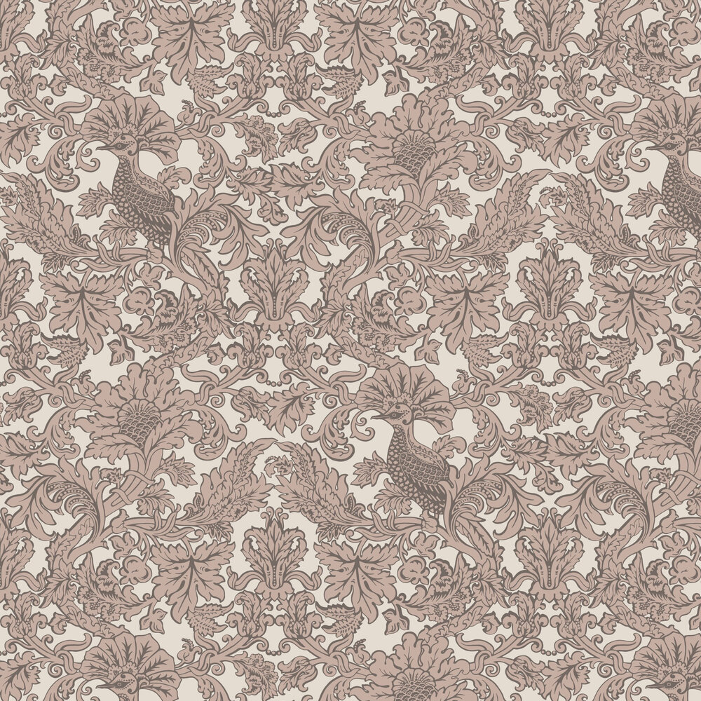 Balabina Wallpaper - Stone and Gilver - by Cole & Son