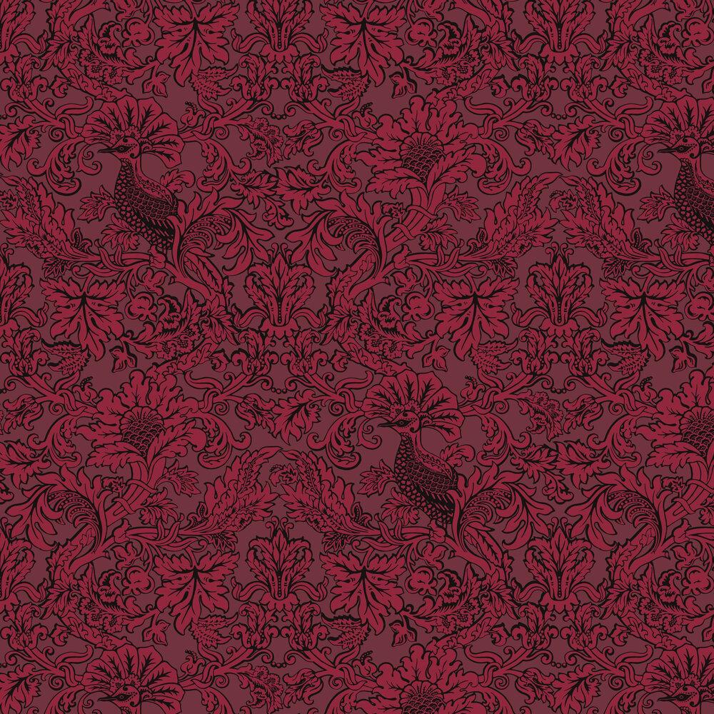 Cole & Son Balabina Velvet Red Wallpaper - Product code: 108/1004