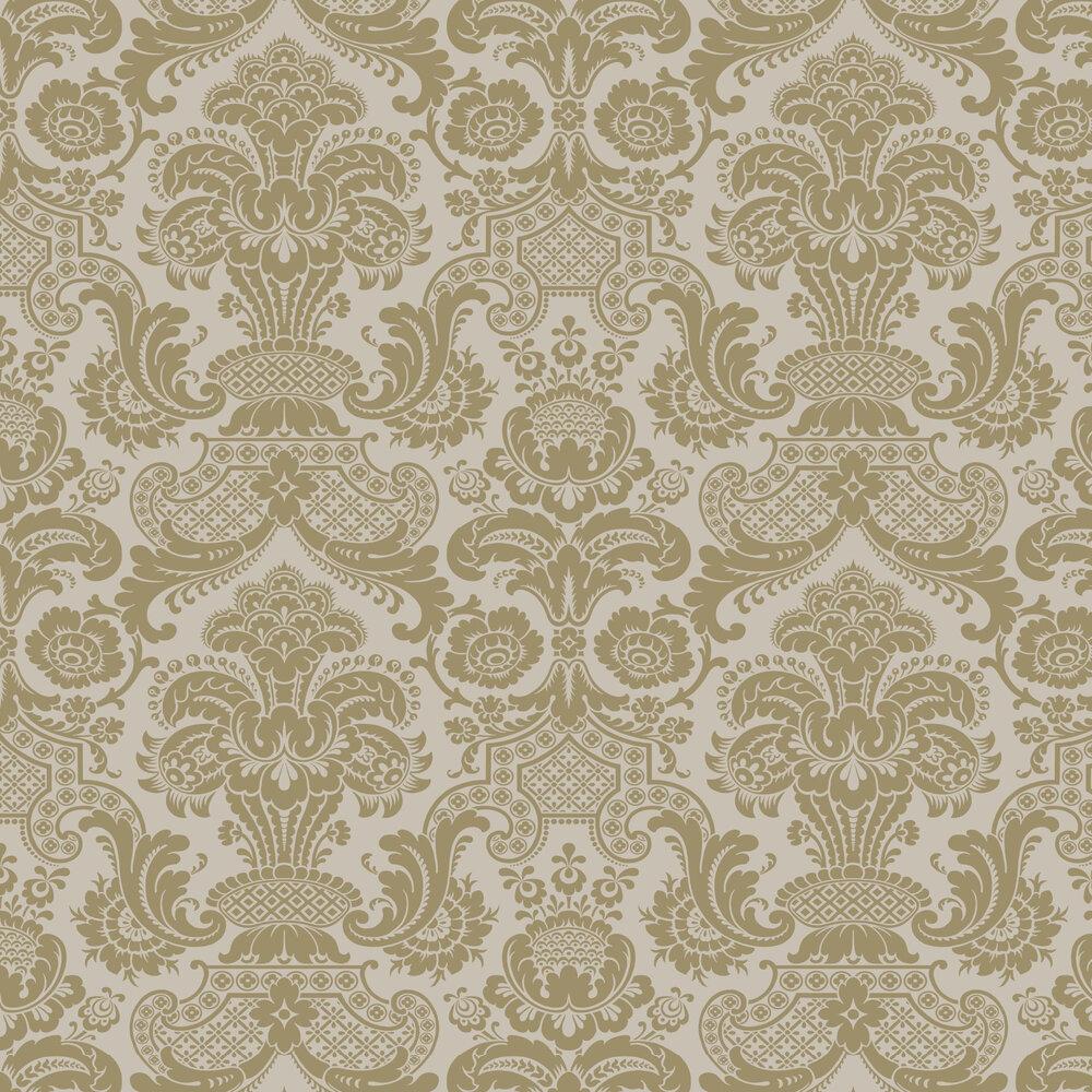 Carmen Wallpaper - Linen - by Cole & Son