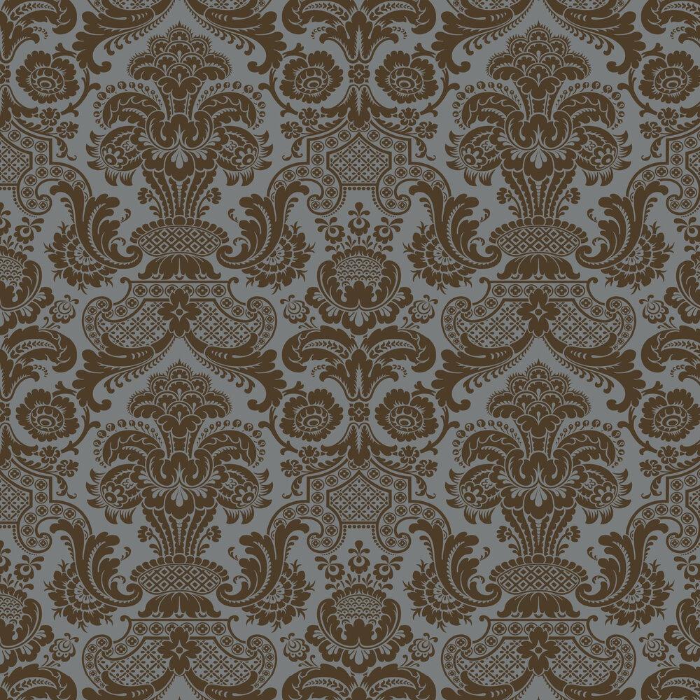 Cole & Son Carmen Charcoal Wallpaper - Product code: 108/2010