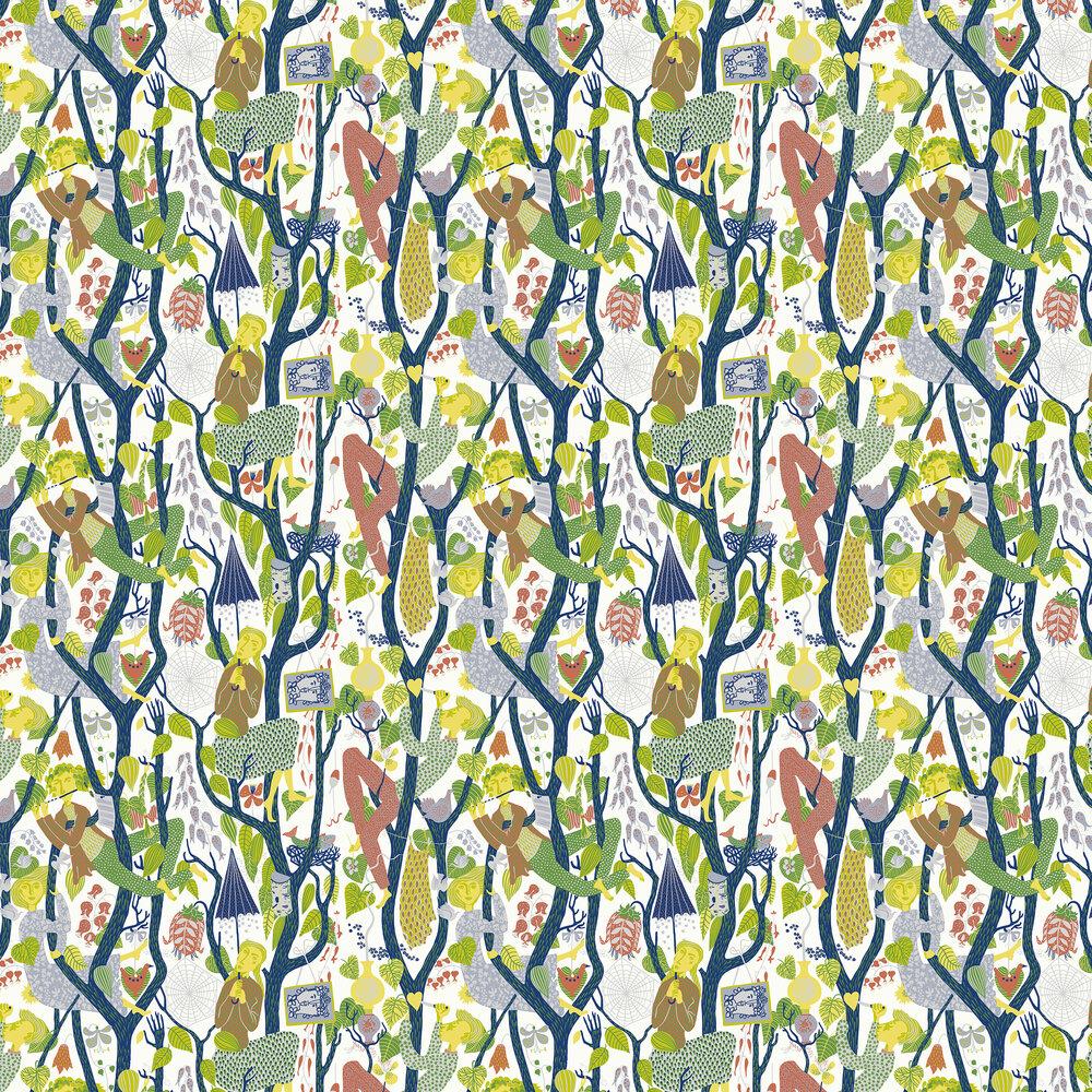 Melodi Wallpaper - Multi - by Boråstapeter