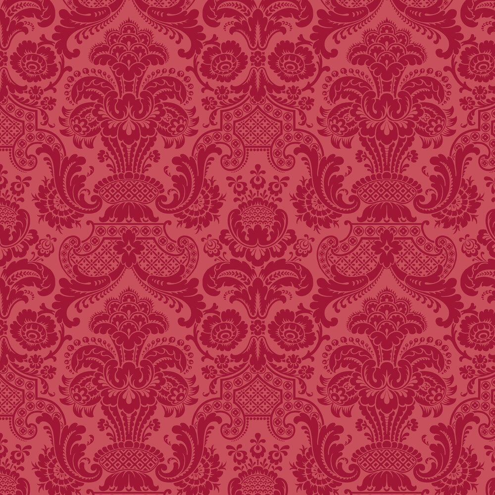 Cole & Son Petrouchka Red Wallpaper - Product code: 108/3014