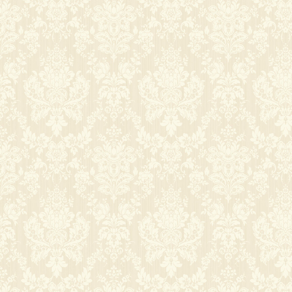 Giselle Wallpaper - Pearl - by Cole & Son