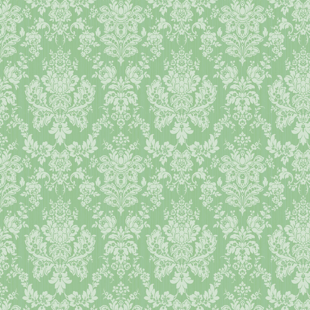 Cole & Son Giselle Leaf Green Wallpaper - Product code: 108/5028