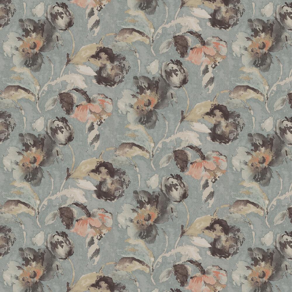 Jane Churchill Beatrice Aqua Wallpaper - Product code: J162W-03