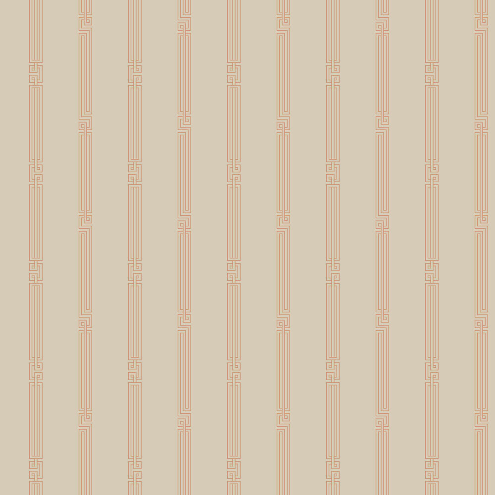 SketchTwenty 3 Stripe Copper Wallpaper - Product code: MH00415