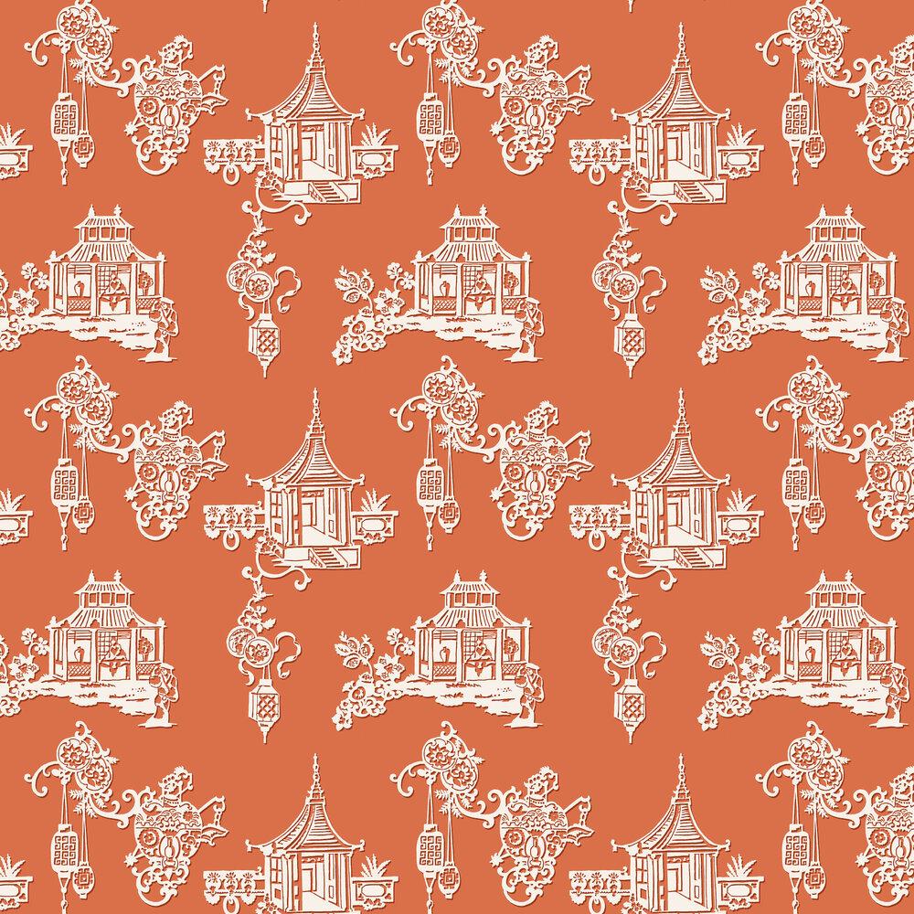 SketchTwenty 3 Chinois Aurora Orange Wallpaper - Product code: MH00416