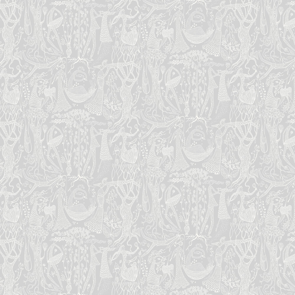 Boråstapeter Poeme d´amour Grey Wallpaper - Product code: 1762