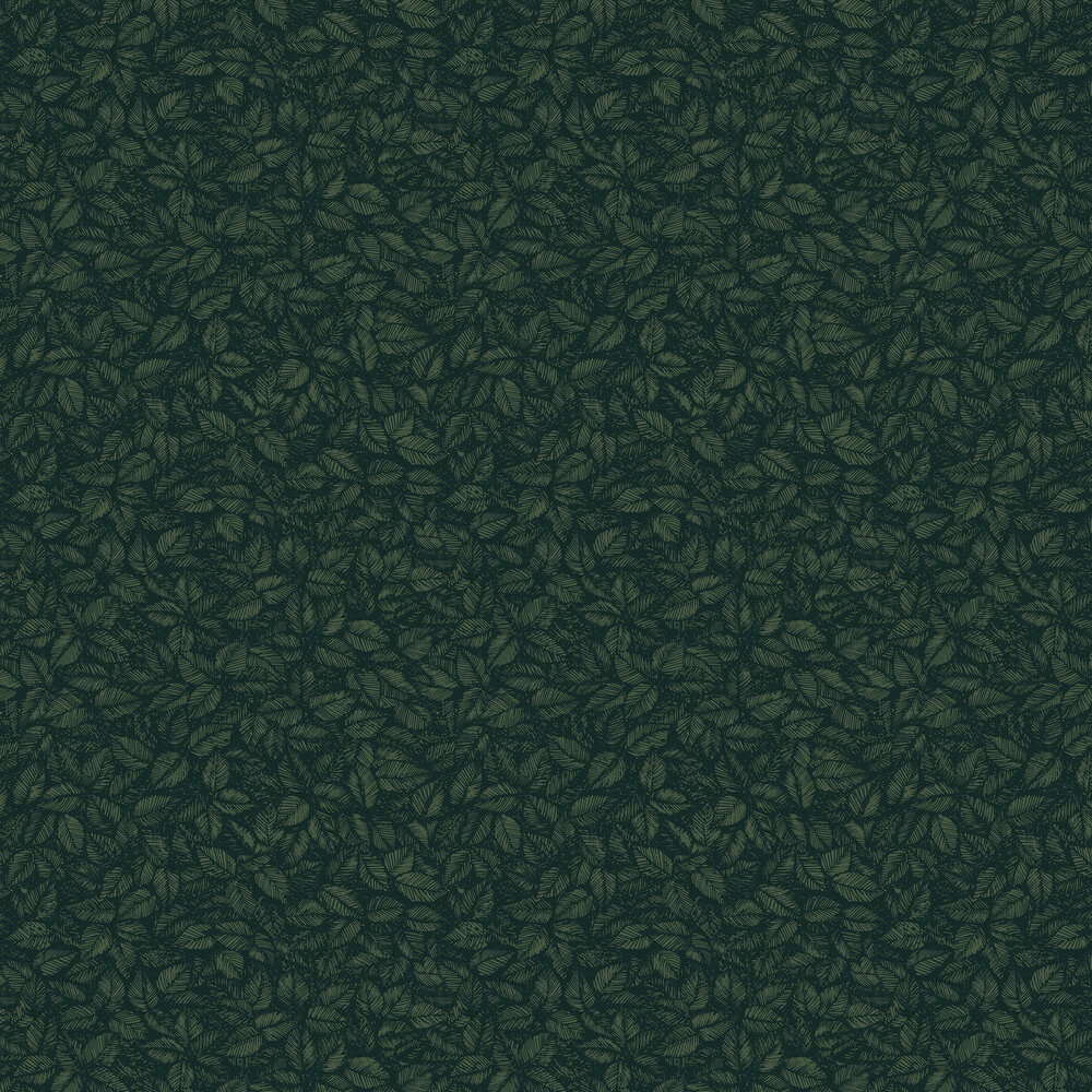Boråstapeter Amorina Black & Green Wallpaper - Product code: 1771