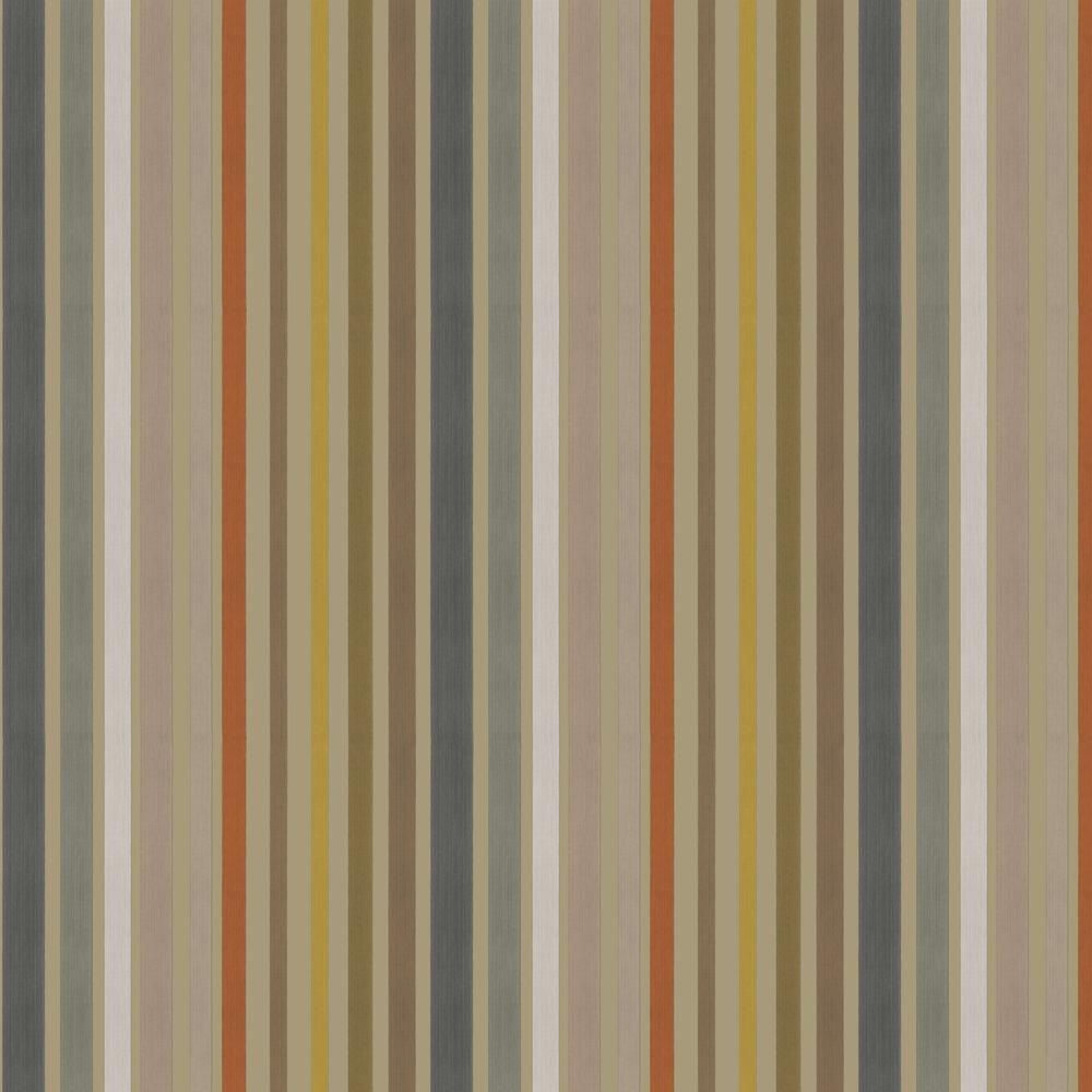 Carousel Stripe Wallpaper - Linen - by Cole & Son