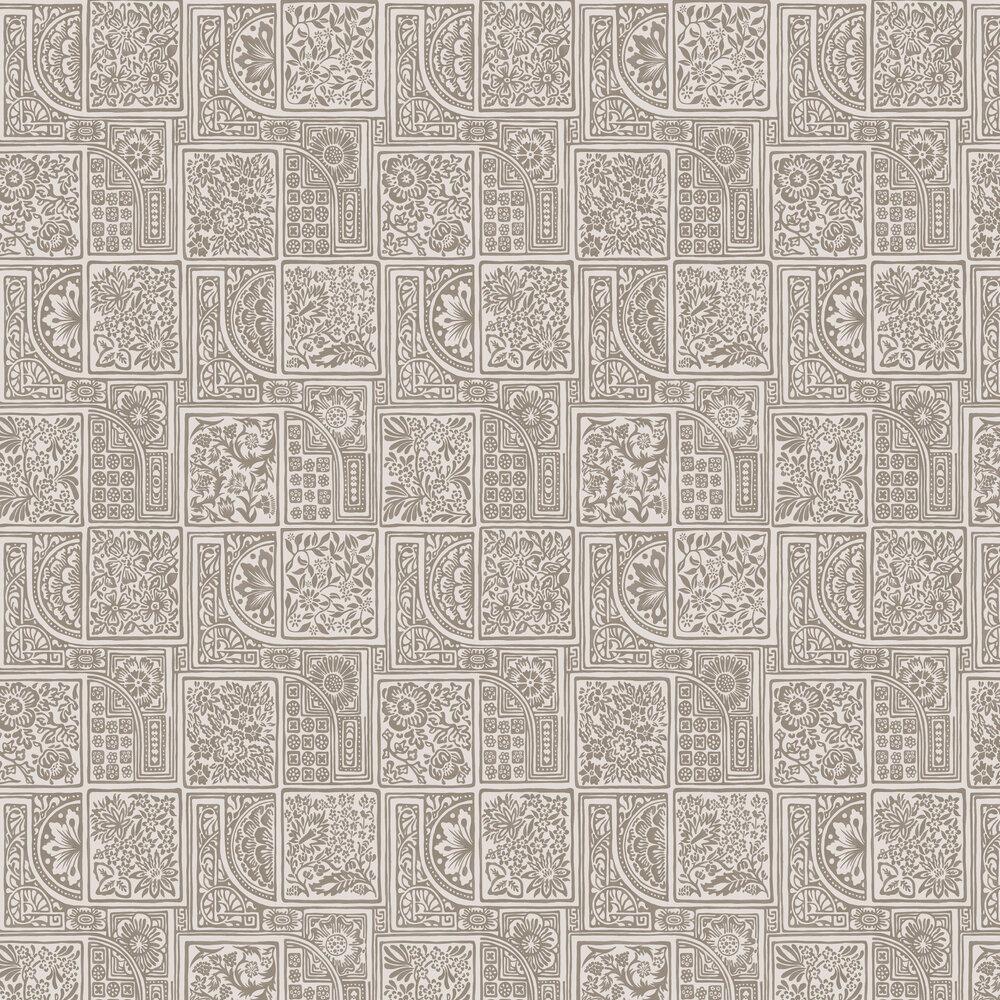 Bellini Wallpaper - Stone - by Cole & Son