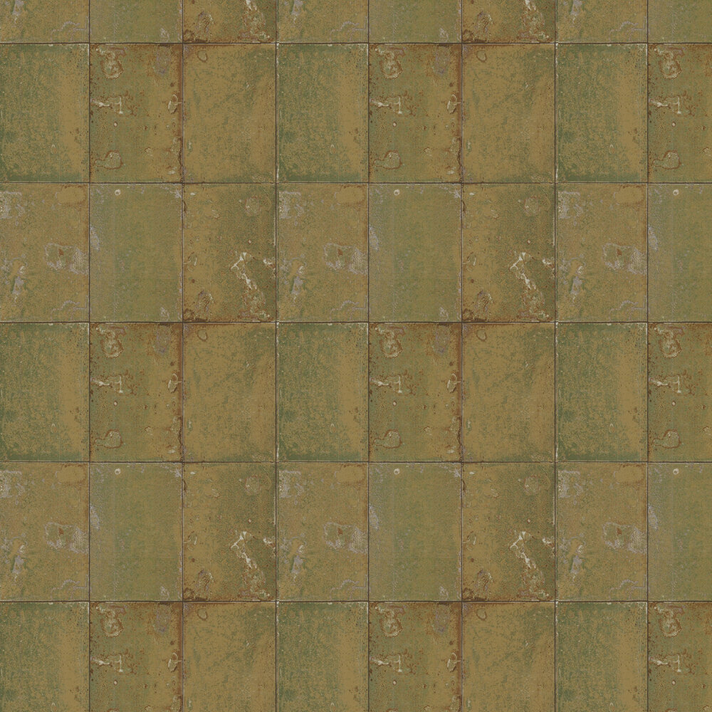 Antique Mirror Wallpaper - Gold - by Cole & Son