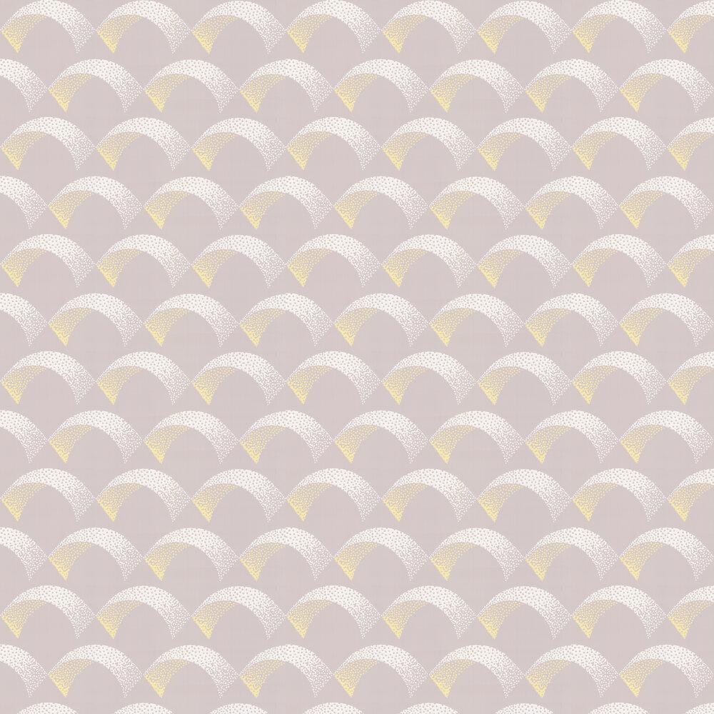 Arcade Wallpaper - Mushroom - by Farrow & Ball