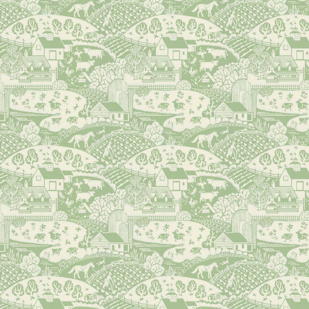 Gable Wallpaper - Apple - by Farrow & Ball
