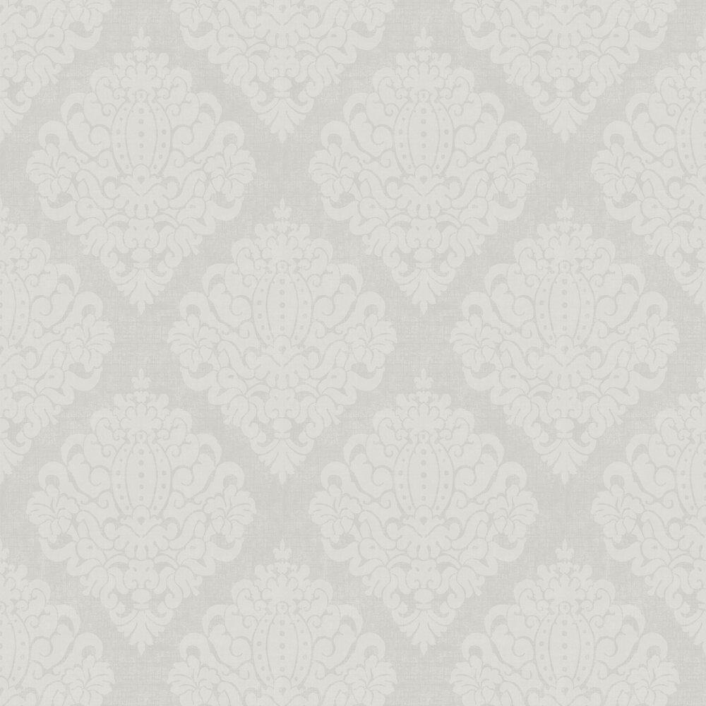 Casablanca Wallpaper - Silver - by SketchTwenty 3