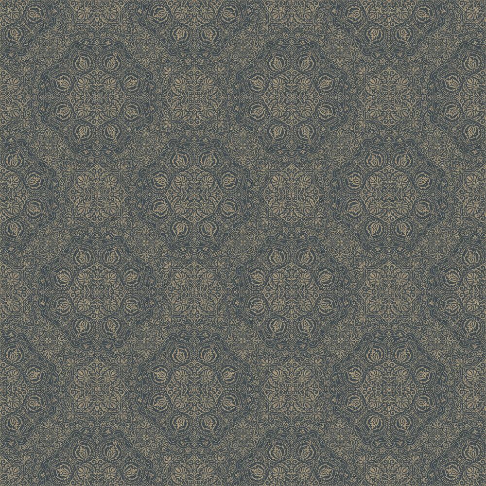 Mia Wallpaper - Teal - by SketchTwenty 3