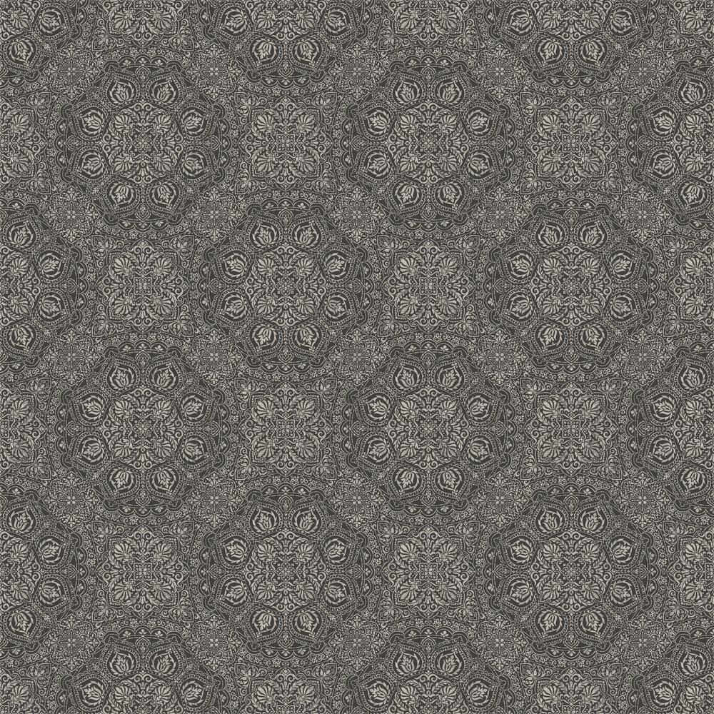 Mia Wallpaper - Charcoal - by SketchTwenty 3