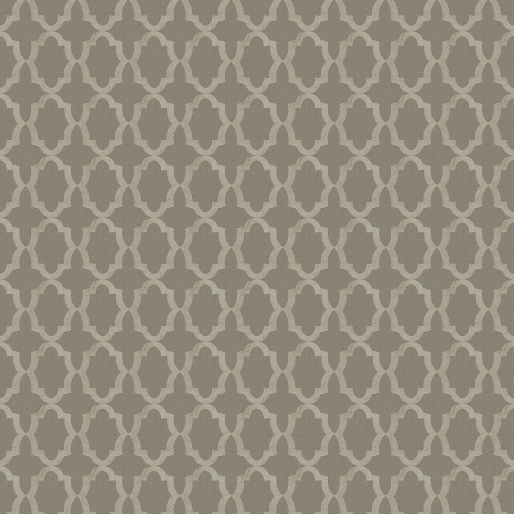Morocco Wallpaper - Taupe - by SketchTwenty 3