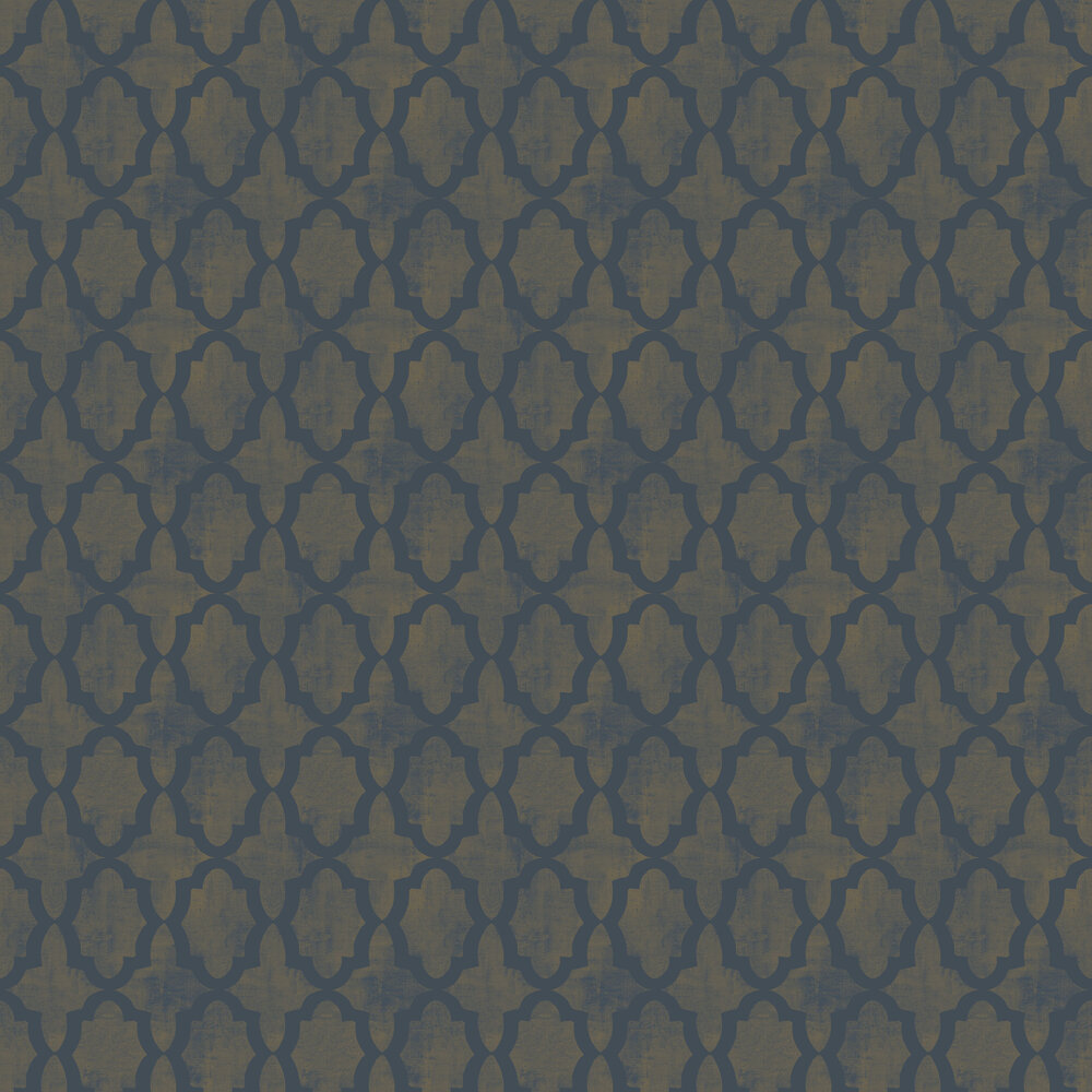 Morocco Beads Wallpaper - Iridescent Teal - by SketchTwenty 3
