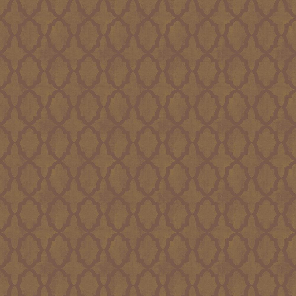 Morocco Beads Wallpaper - Iridescent Bronze - by SketchTwenty 3