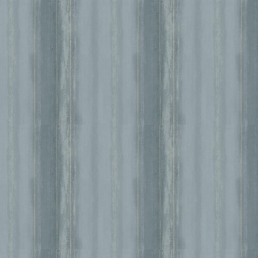 Soft Stripe Wallpaper - Ocean - by SketchTwenty 3