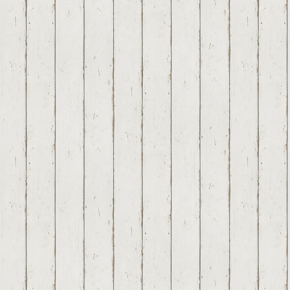 Albany Wood Panelling White Wallpaper - Product code: 479638