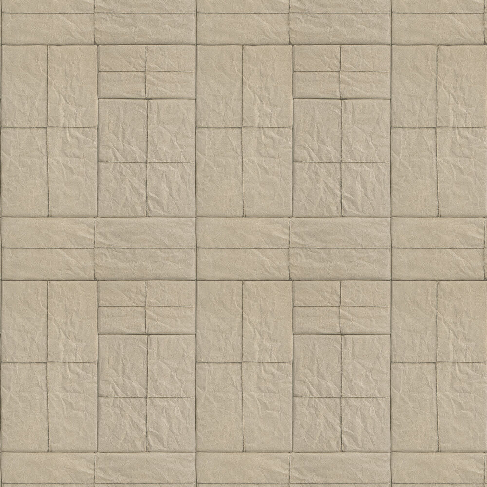 Crispy Paper Wallpaper - Taupe - by Albany