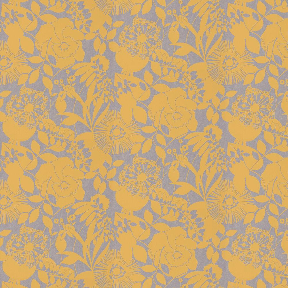 Coquette Wallpaper - Lemon - by Harlequin