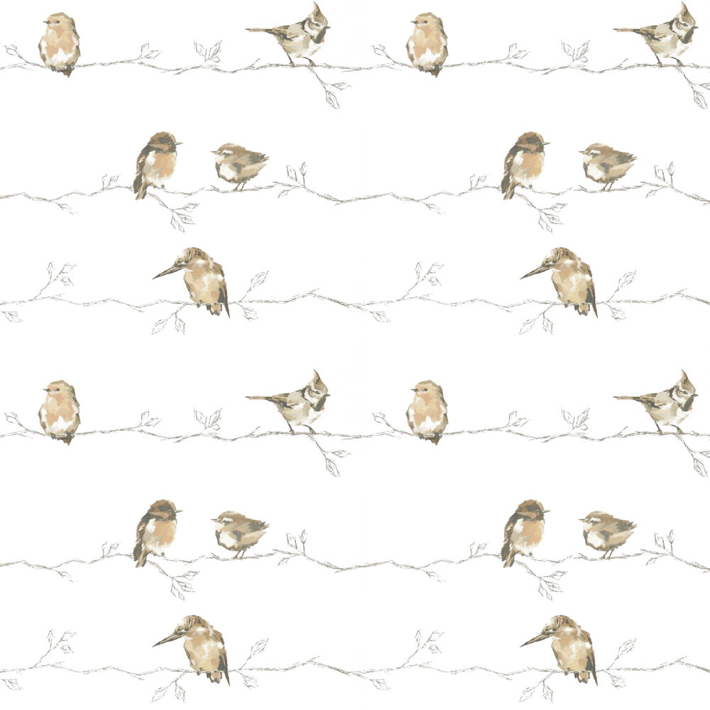Persico Wallpaper - Neutral / Chalk - by Harlequin