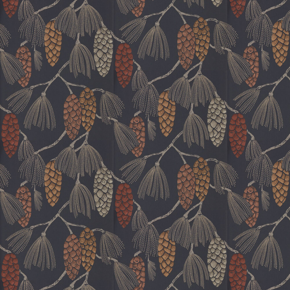 Epitome Wallpaper - Copper / Gold / Sepia - by Harlequin