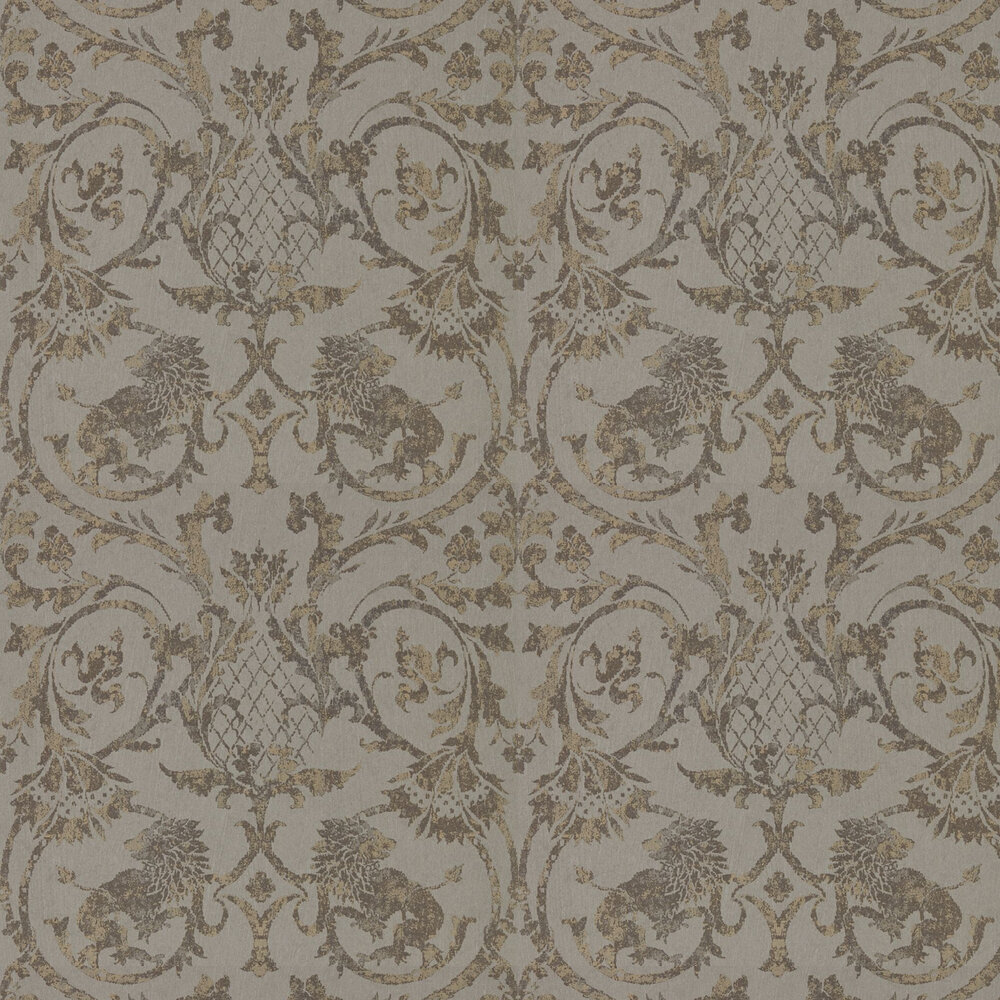 Zoffany Landseer Antique Bronze Wallpaper - Product code: 312613