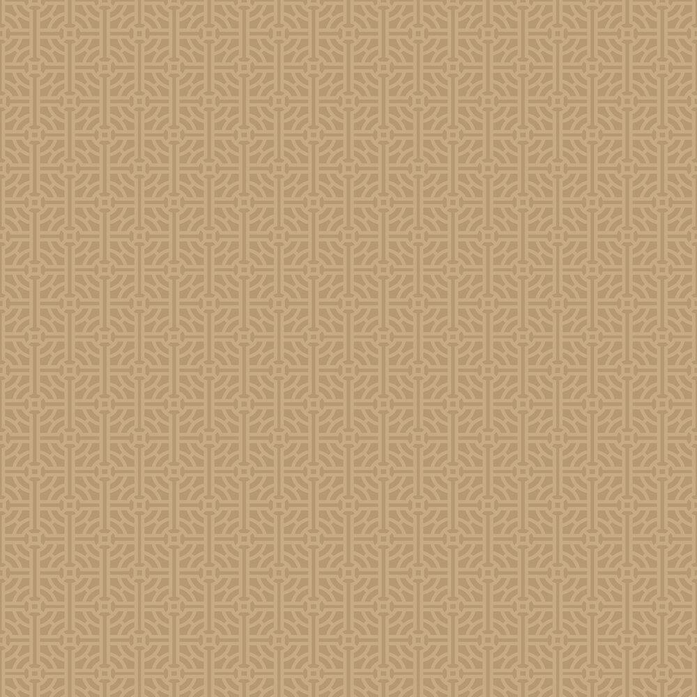 Fretwork Wallpaper - Bronze - by SketchTwenty 3
